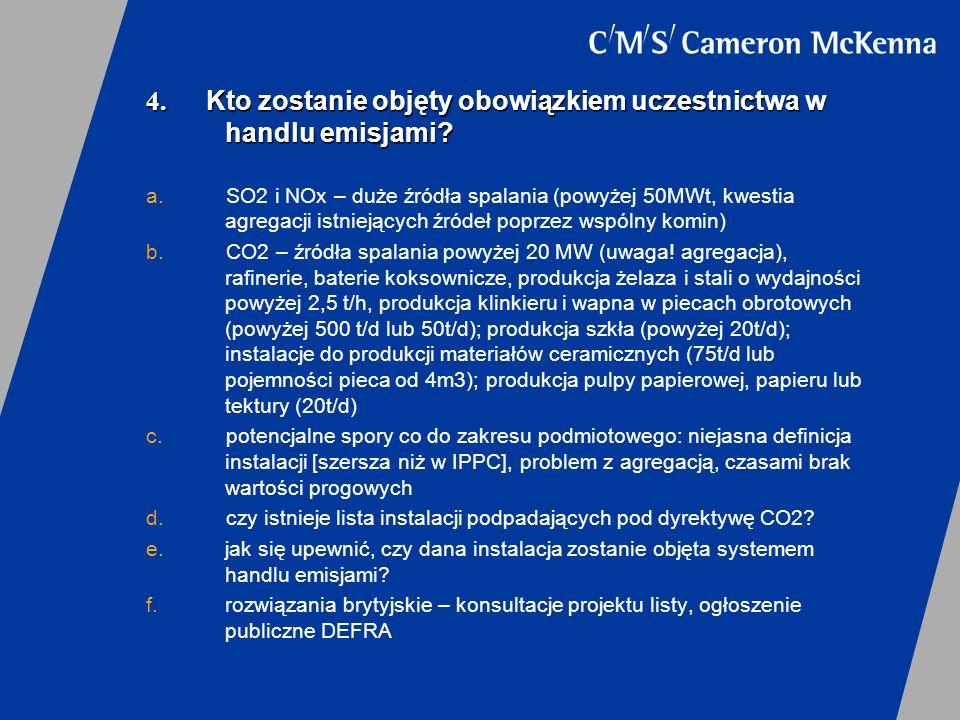 5.Czy warto być uczestnikiem systemu handlu emisjami.