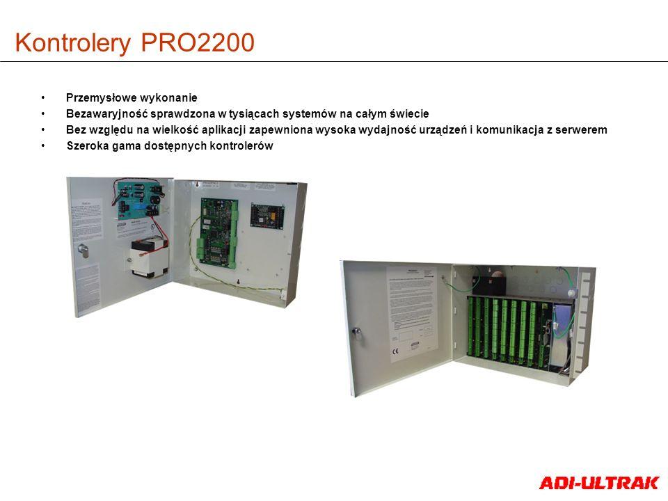 Kontrolery PRO2200 Przemysłowe wykonanie Bezawaryjność sprawdzona w tysiącach systemów na całym świecie Bez względu na wielkość aplikacji zapewniona w