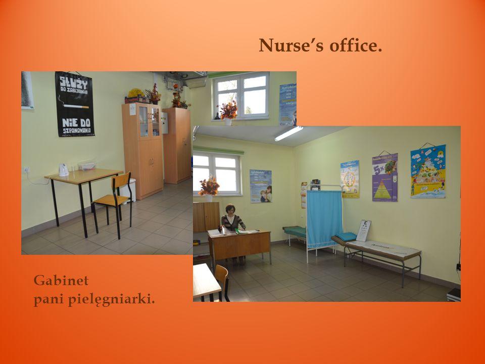 Nurses office. Gabinet pani pielęgniarki.