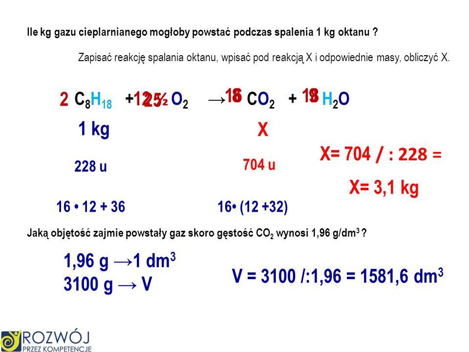 ma grupę aminową ma grupę karboksylową O H H // I / HO – C – C – N I \ CH 2 H I CH 3 C 2 H 4 (NH 2 ) COOH kwas aminopropanowy CH 2 (NH 2 ) COOH kwas a