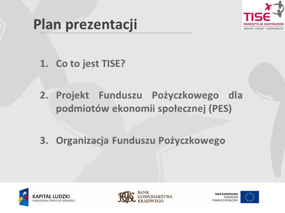 Plan prezentacji 1.Co to jest TISE.