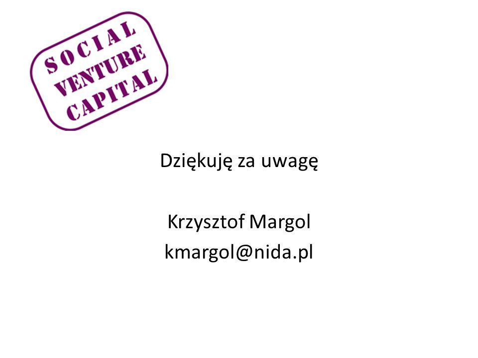 Dziękuję za uwagę Krzysztof Margol kmargol@nida.pl
