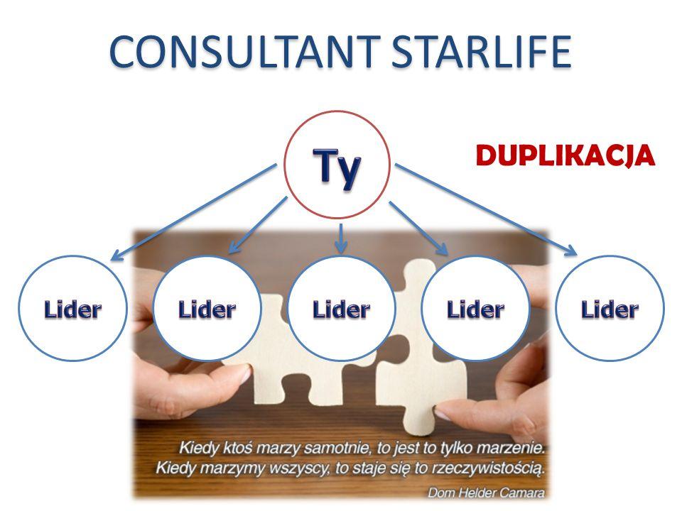 DUPLIKACJA CONSULTANT STARLIFE