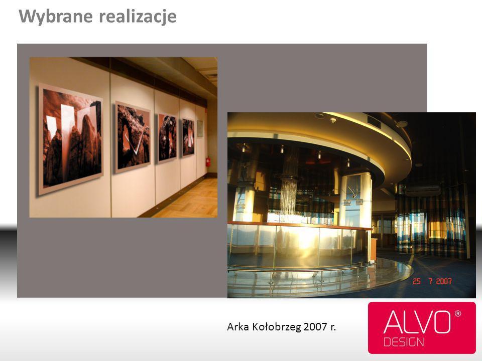 18 Wybrane realizacje Arka Kołobrzeg 2007 r.