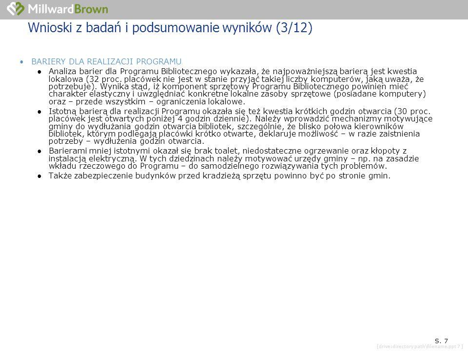 [drive:directory path\filename.ppt 7 ] SYTUACJA KONKRETNEJ PLACÓWKI S.