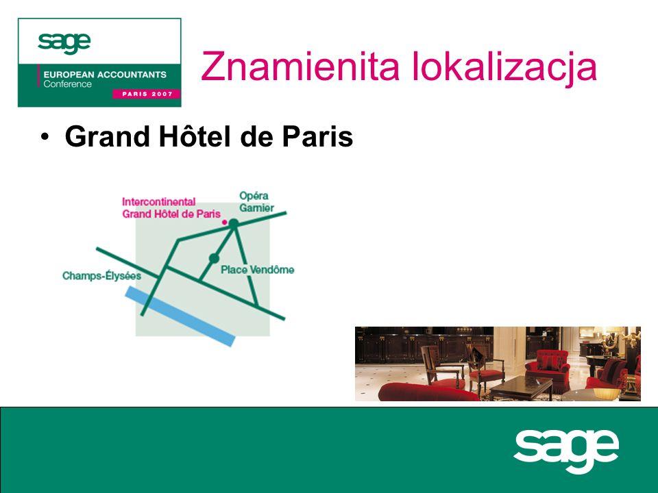 Znamienita lokalizacja Grand Hôtel de Paris