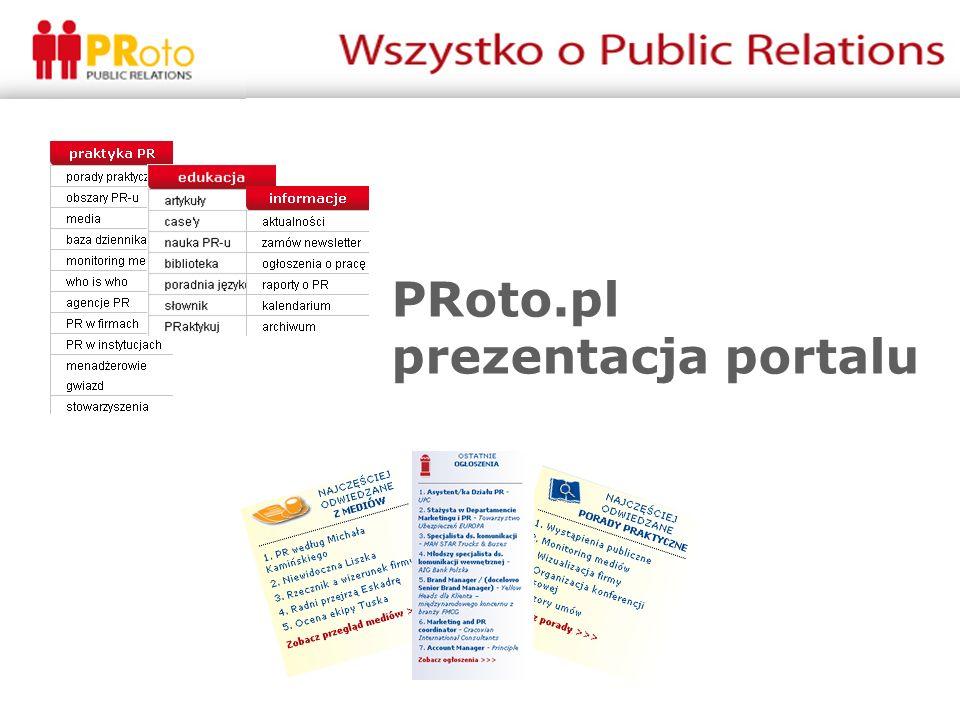 PRoto.pl prezentacja portalu