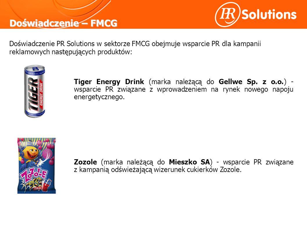 Doświadczenie – FMCG Tiger Energy Drink (marka należącą do Gellwe Sp.