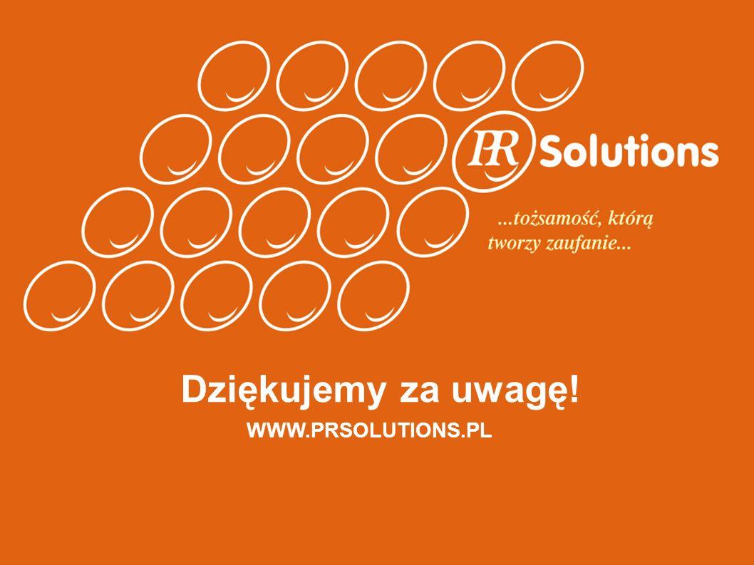Dziękujemy za uwagę! WWW.PRSOLUTIONS.PL