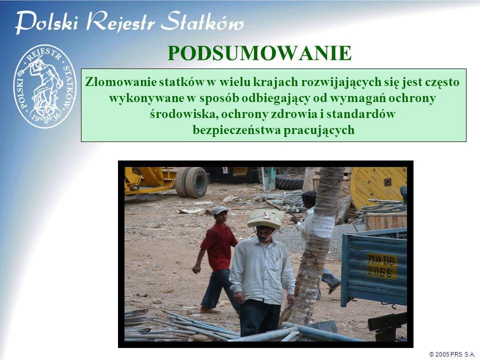© 2005 PRS S.A.