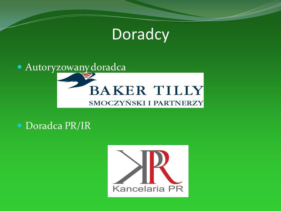 Doradcy Autoryzowany doradca Doradca PR/IR