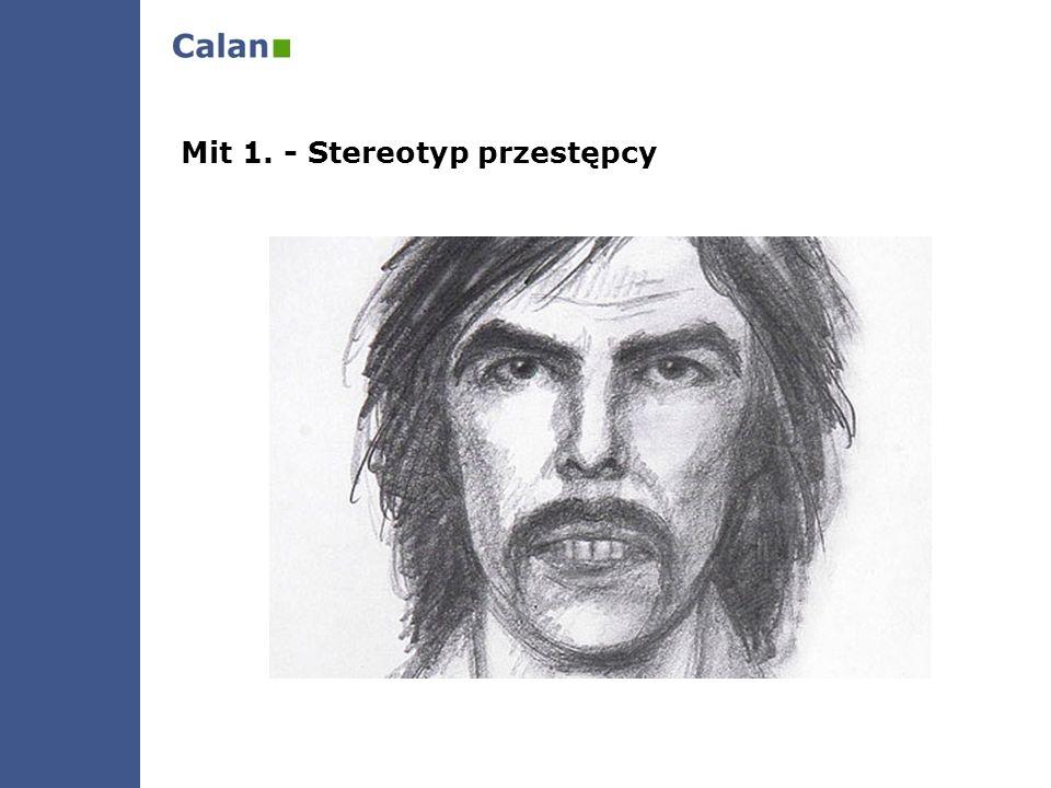 Mit 1. - Stereotyp przestępcy