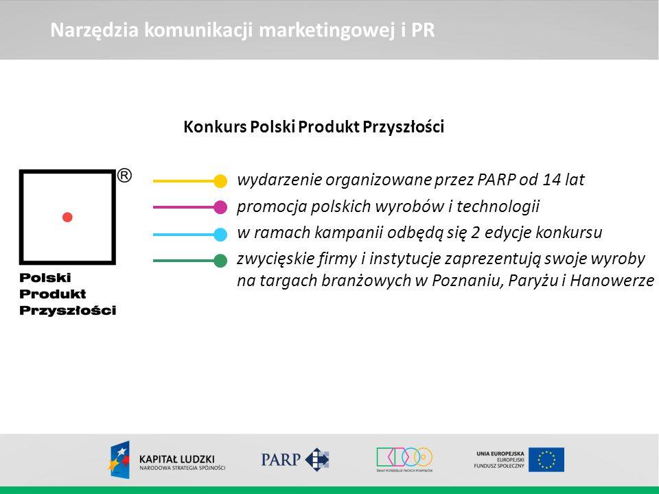 Konkurs Polski Produkt Przyszłości wydarzenie organizowane przez PARP od 14 lat promocja polskich wyrobów i technologii w ramach kampanii odbędą się 2