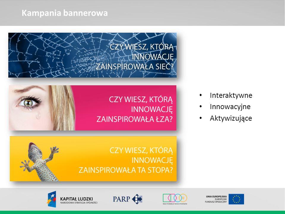 Kampania bannerowa Interaktywne Innowacyjne Aktywizujące