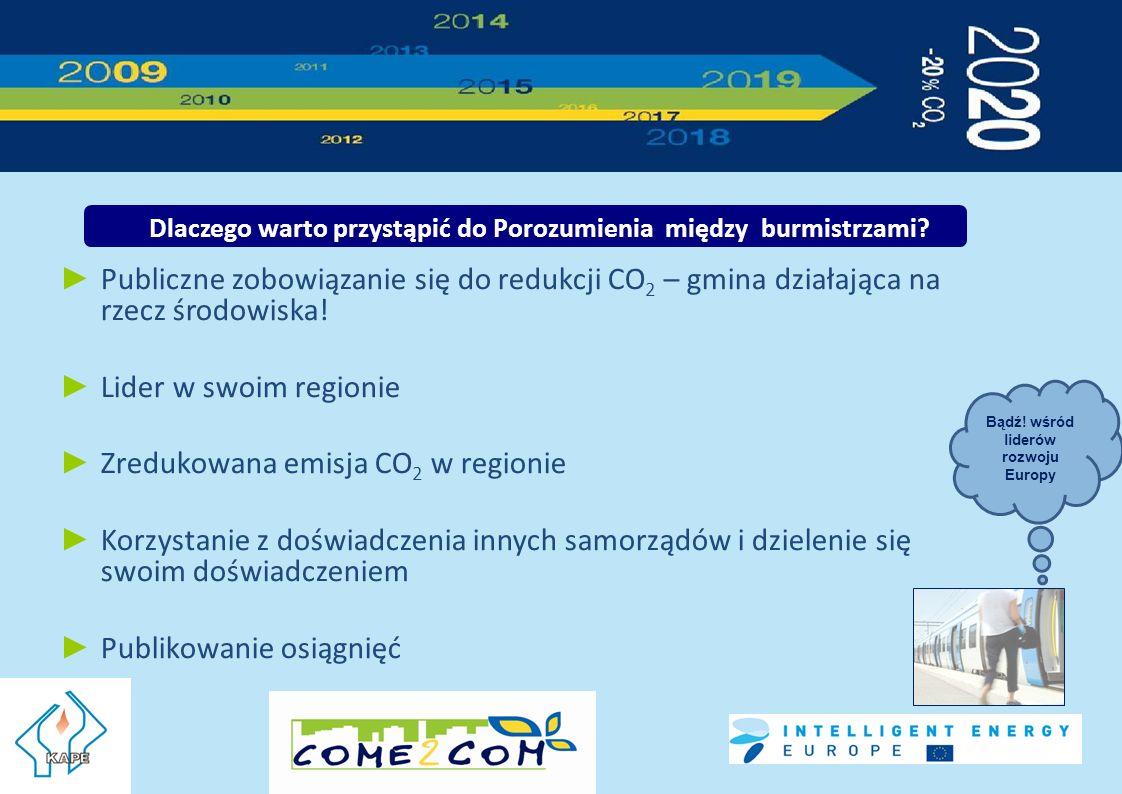 Publiczne zobowiązanie się do redukcji CO 2 – gmina działająca na rzecz środowiska.