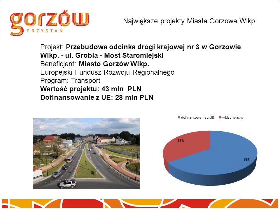 Projekt: Przebudowa odcinka drogi krajowej nr 3 w Gorzowie Wlkp.
