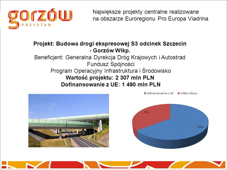 Projekt: Budowa drogi ekspresowej S3 odcinek Szczecin - Gorzów Wlkp.