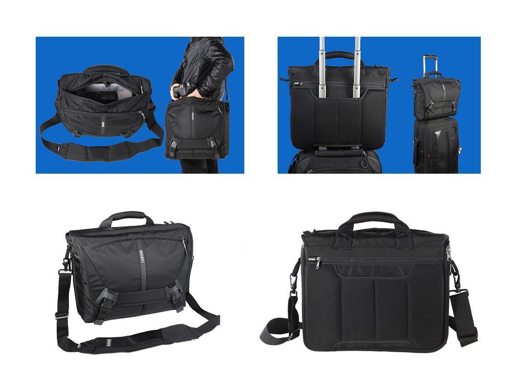 CoolWalker Pro S200N Profesjonalna torba fotograficzna pomieści 2 lustrzanki, 2/3 obiektywy w tym 70-200, lampę błyskową i laptop 12.