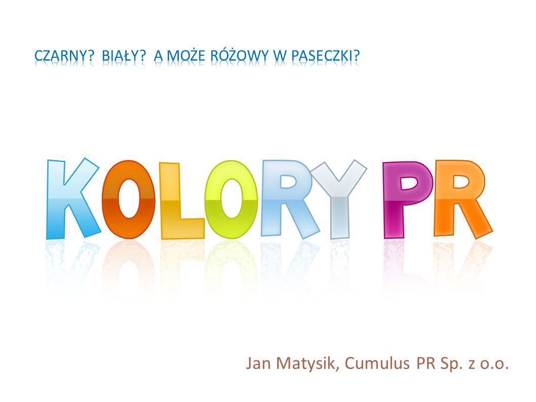 Jan Matysik, Cumulus PR Sp. z o.o.