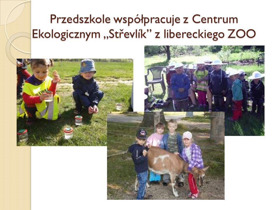 Przedszkole współpracuje z Centrum Ekologicznym Střevlík z libereckiego ZOO