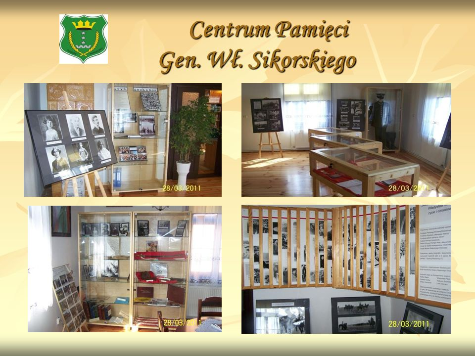 Centrum Pamięci Gen. Wł. Sikorskiego Centrum Pamięci Gen. Wł. Sikorskiego
