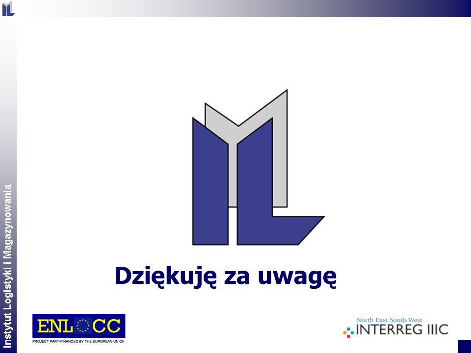 Instytut Logistyki i Magazynowania 2 Dziękuję za uwagę