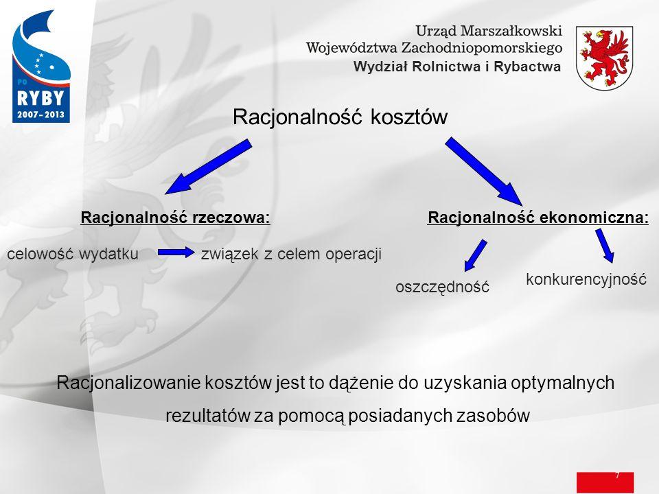 8 Wydział Rolnictwa i Rybactwa Art.44 Ustawy o finansach publicznych ust.