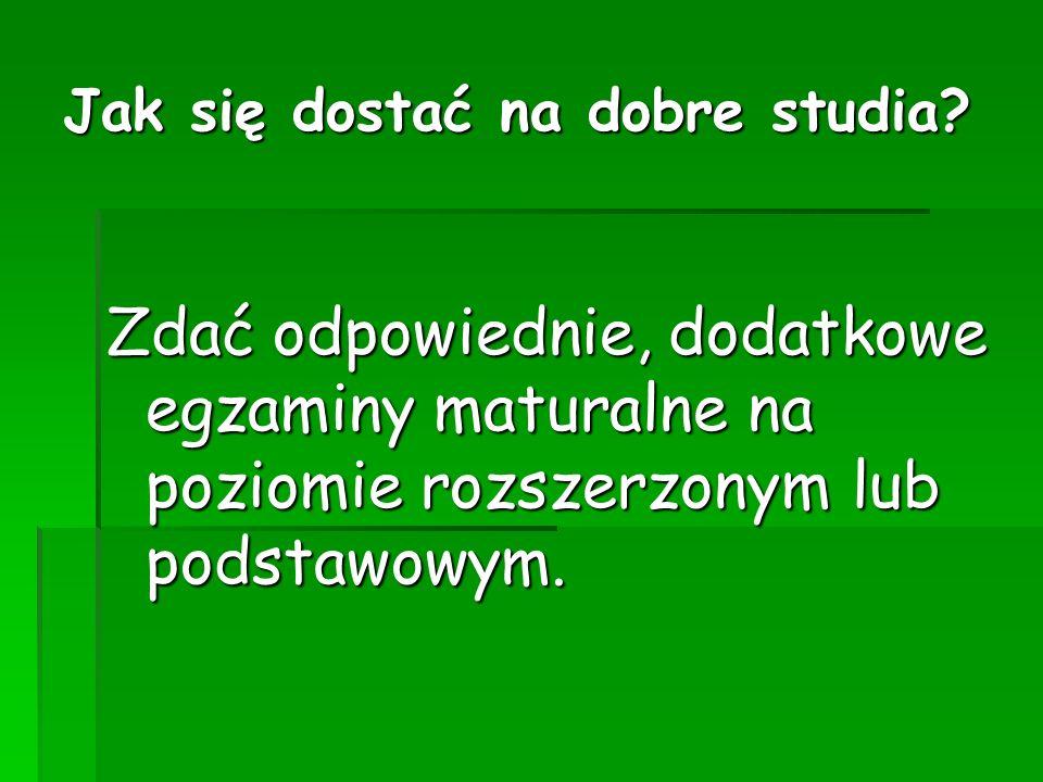 Kalendarz części pisemnej egzaminu maturalnego c.d.