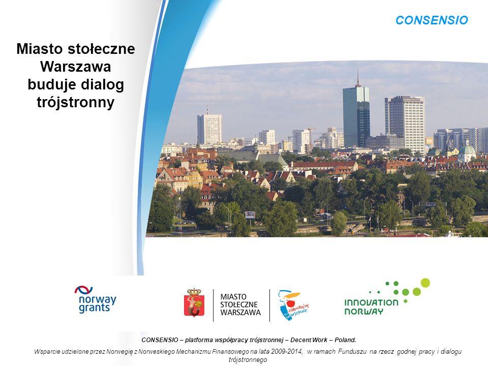 Nowatorskie działania szkoleniowe dla osób powracających do pracy po urlopach związanych z rodzicielstwem CONSENSIO – platforma współpracy trójstronnej – Decent Work – Poland.