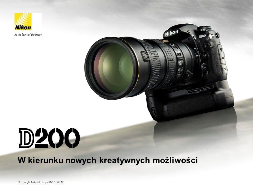 Nikon Europe BV Marketing Communications October 2005 Embargo do: 1 Listopada 2005 (godz. 7:00 CET) Copyright Nikon Europe BV, 10/2005 W kierunku nowy