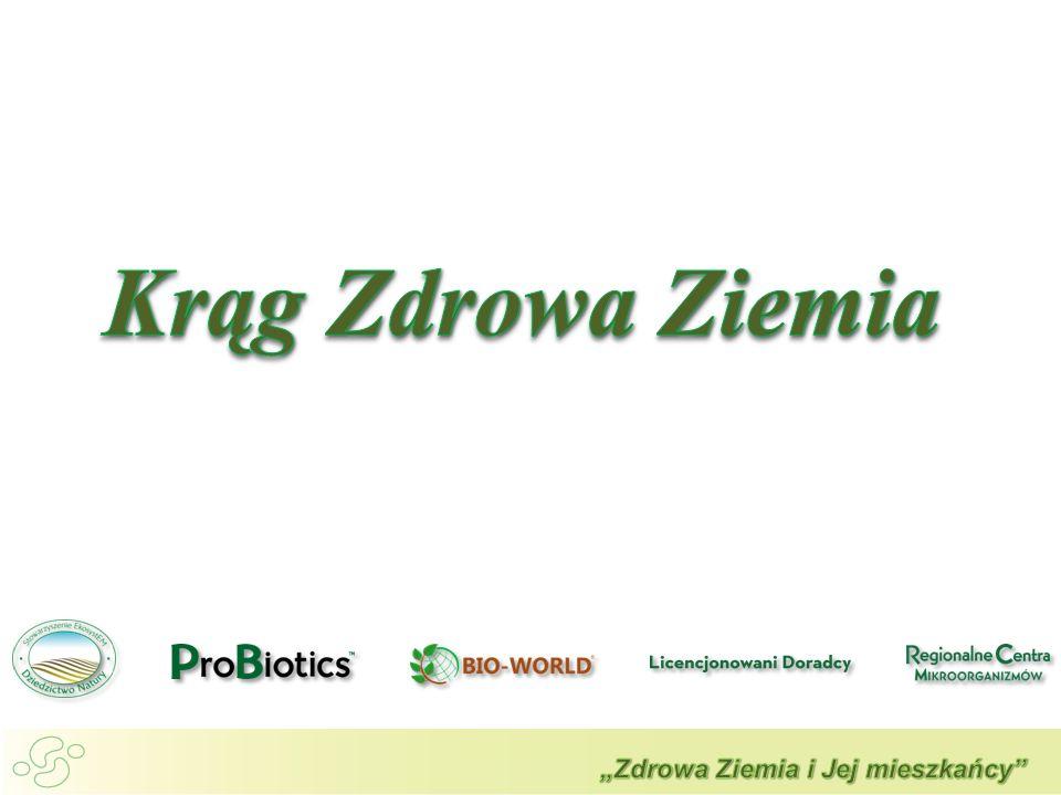 Początki tworzenia grupy 2006 rok Misja : Zdrowa Ziemia i Jej mieszkańcy Krąg Zdrowa Ziemia to inicjatywa społeczno – gospodarcza wspierająca rozwój Probiotechnologii Zrzesza wiele niezależnych podmiotów niosących jedną misję i przesłanie