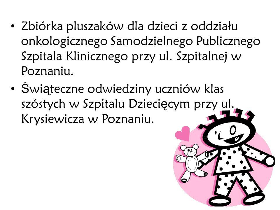 Odwiedziny dzieci z Domu Pomocy Społecznej s.Serafitek w Poznaniu.