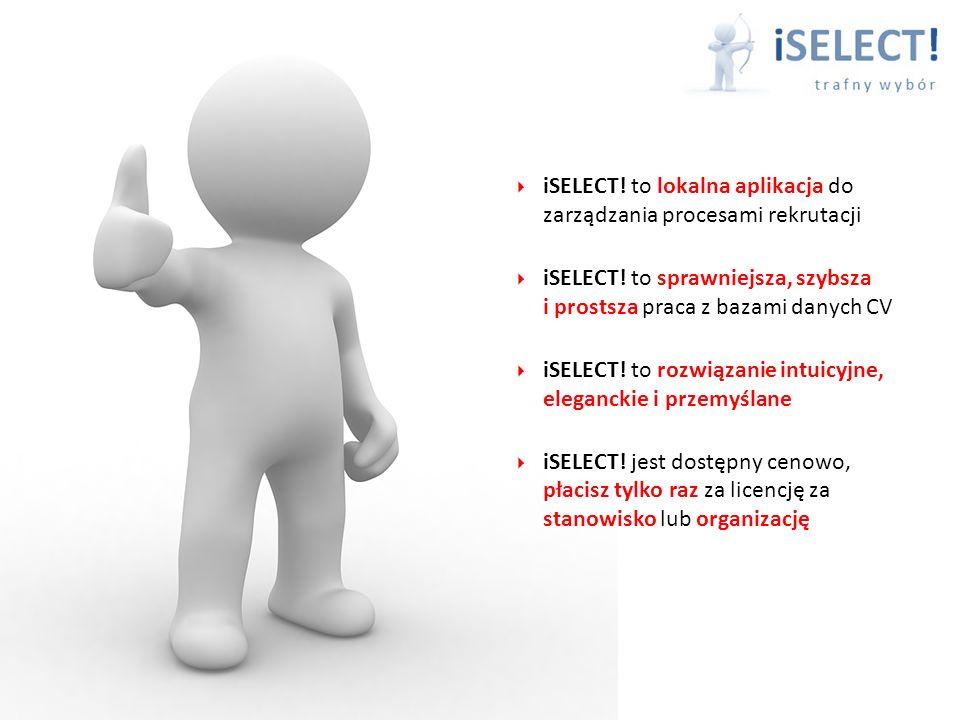 iSELECT.to lokalna aplikacja do zarządzania procesami rekrutacji iSELECT.