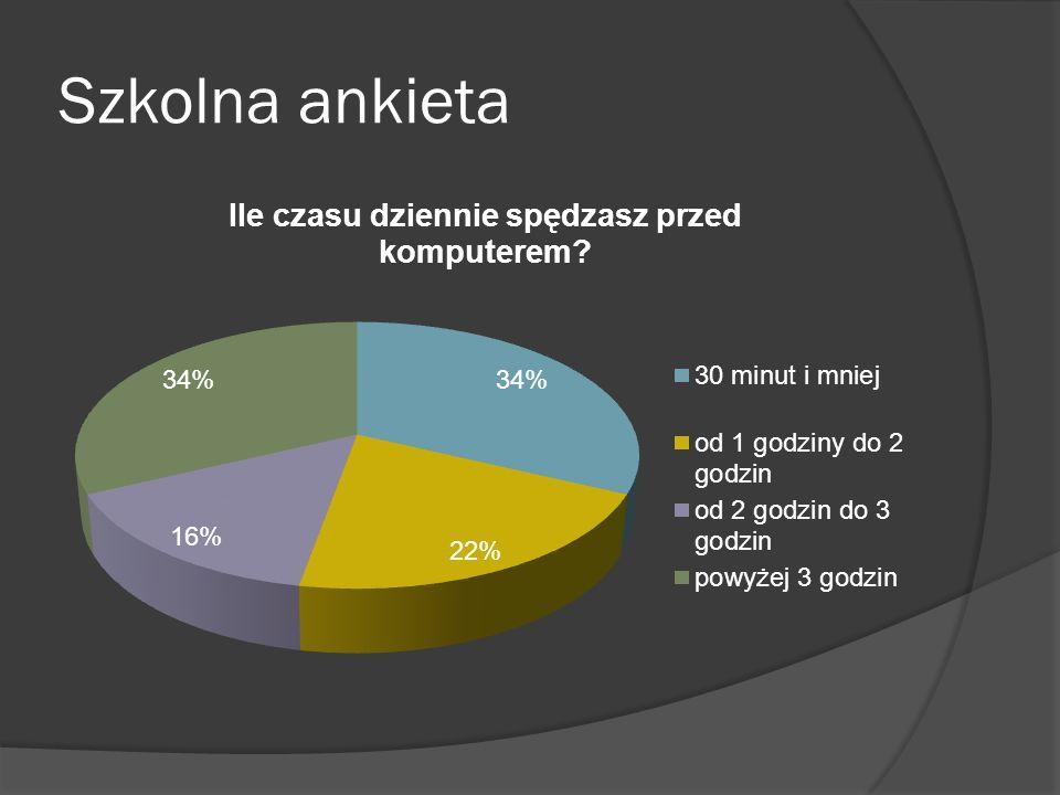 Szkolna ankieta
