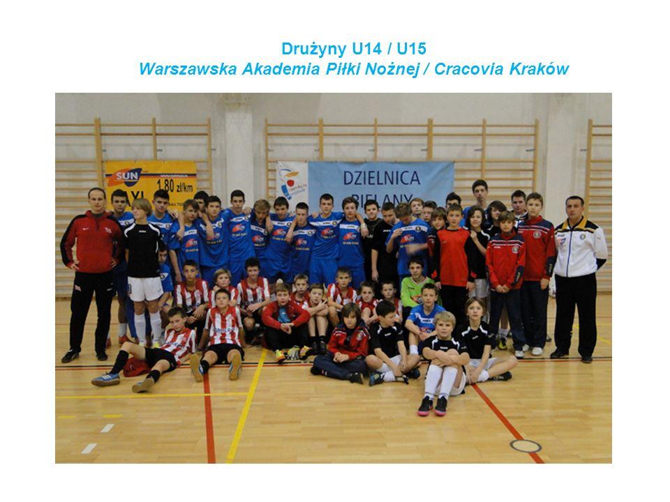 Drużyny U14 / U15 Warszawska Akademia Piłki Nożnej / Cracovia Kraków
