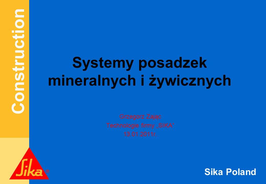 Construction Sika Poland Posadzki Mineralne