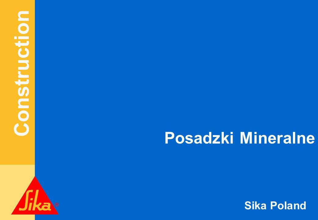 Construction Sika Poland Sikaflex Pro 3 WF podparty Sika Rundschnur.