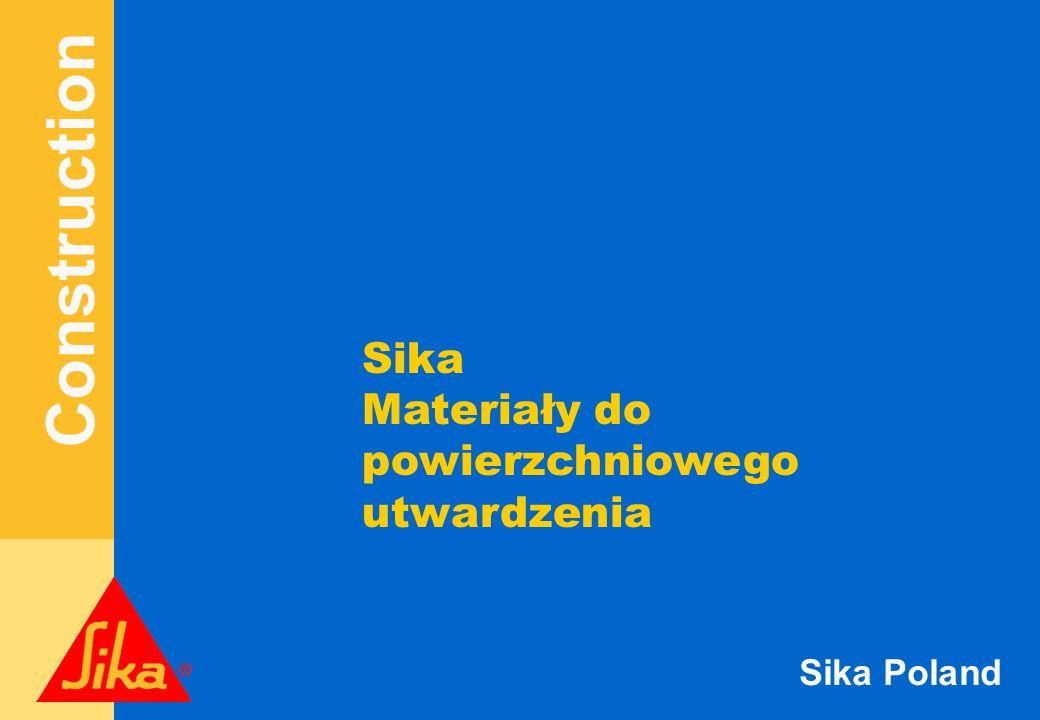 Construction Sika Poland Posadzki żywiczne