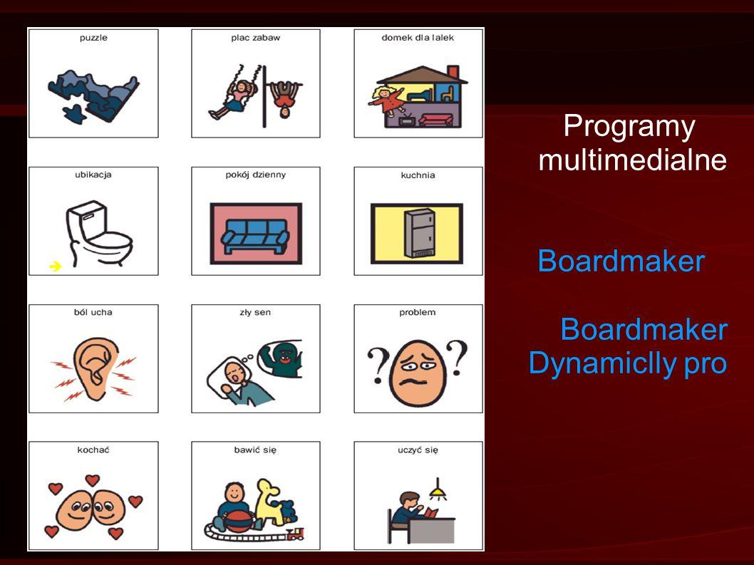 Programy multimedialne Boardmaker Boardmaker Dynamiclly pro