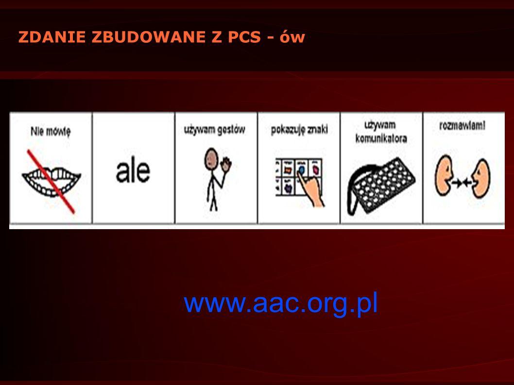 ZDANIE ZBUDOWANE Z PCS - ów www.aac.org.pl