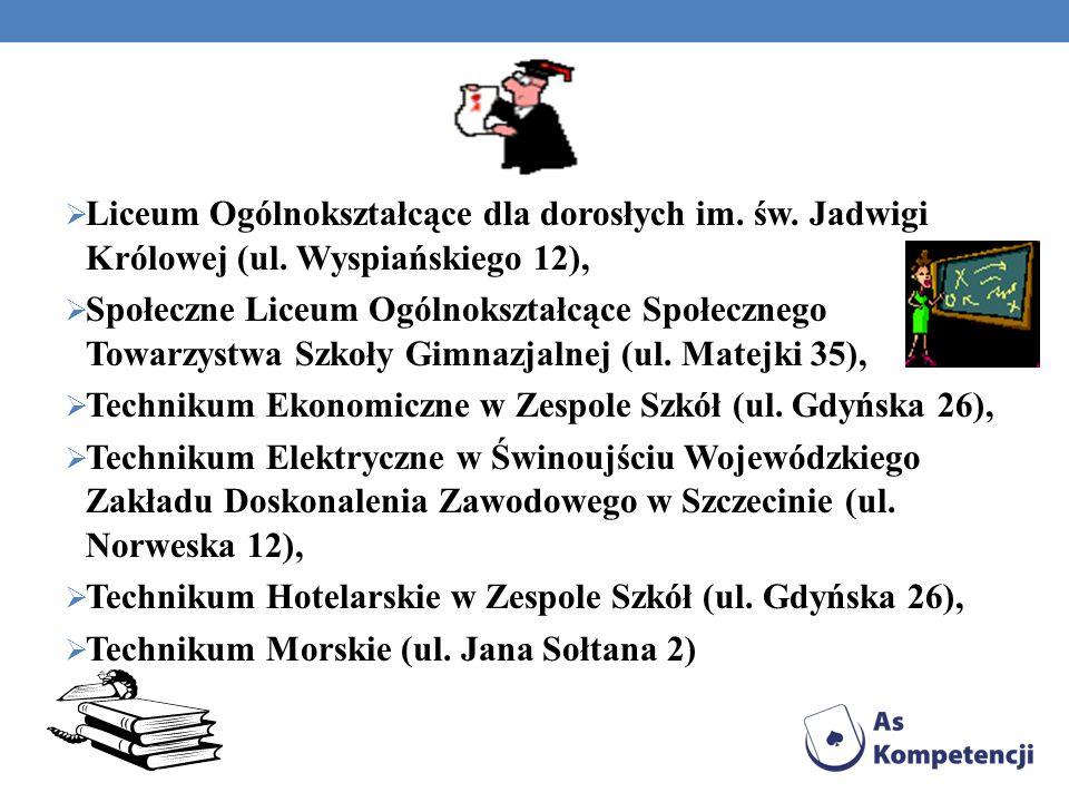 Liceum Ogólnokształcące dla dorosłych im. św. Jadwigi Królowej (ul. Wyspiańskiego 12), Społeczne Liceum Ogólnokształcące Społecznego Towarzystwa Szkoł