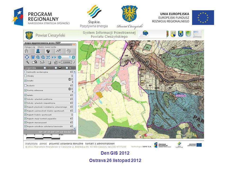 Den GIS 2012 Ostrava 26 listopad 2012