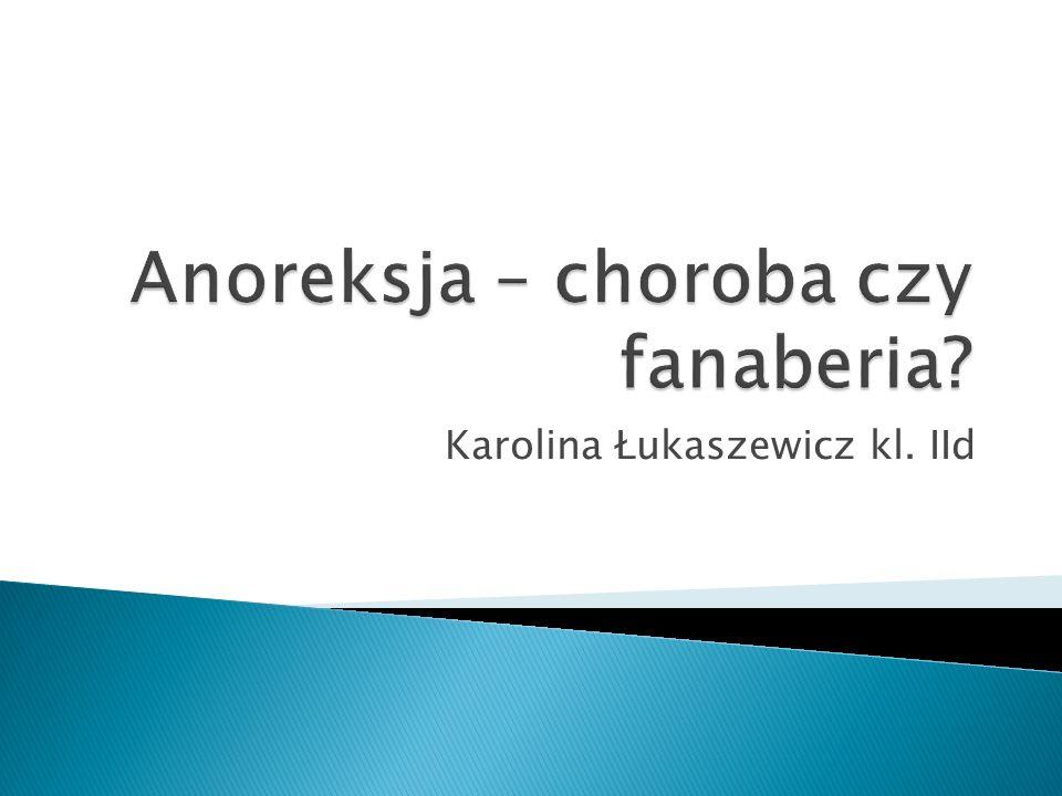 Karolina Łukaszewicz kl. IId