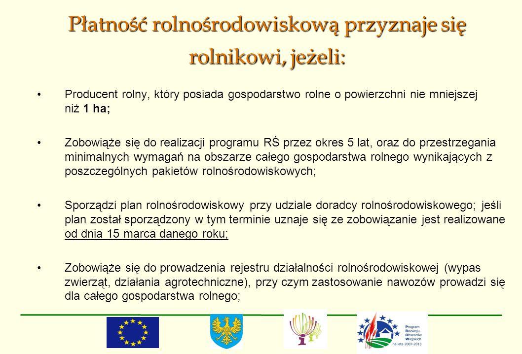 Rolnictwo ekologiczne Warianty: Wariant 2.1.Uprawy rolnicze (bez cert.) – 800 zł/ha Wariant 2.2.