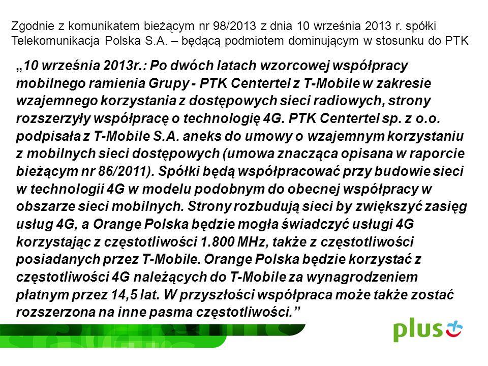 UOKiK mógł zostać wprowadzony w błąd przez Orange i T-Mobile, co do faktycznego zakresu planowanej współpracy spółek, w ramach utworzonej spółki Networks.