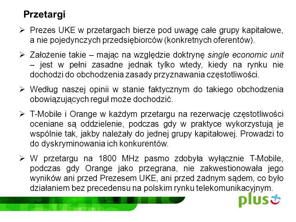 – preferencje dla Play i o wiele bardziej niewytłumaczalne również dla T-Mobile i Orange.