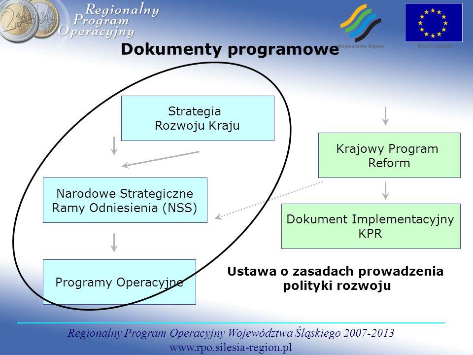 Regionalny Program Operacyjny Województwa Śląskiego 2007-2013 www.rpo.silesia-region.pl Priorytet - II Społeczeństwo informacyjne W ramach priorytetu możliwe będą m.in.