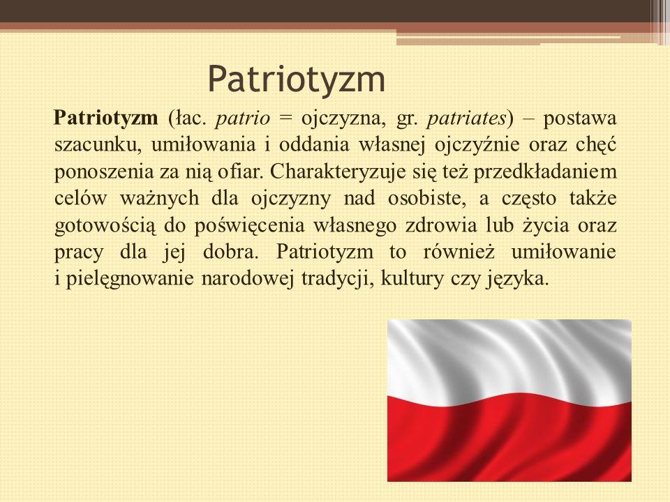 Polscy patrioci XX wieku Grupa II: Natalia Majocha Wiktoria Wieczerzak Daria Mordec Adrian Sroka Damian Trzpis Rafał Piątkowski Konrad Zakręcki Daria