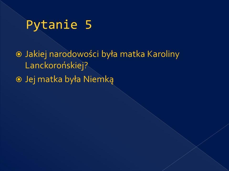 Kto był konspiracyjnym przełożonym Karoliny Lanckorońskiej w Krakowie w 1940 roku.