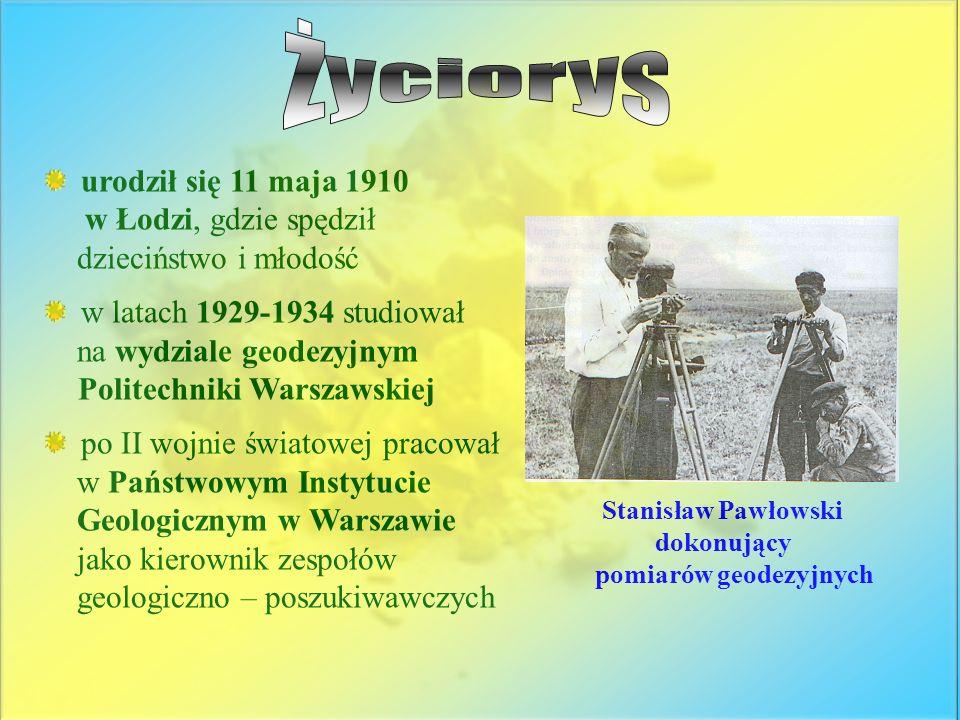 urodził się 11 maja 1910 w Łodzi, gdzie spędził dzieciństwo i młodość w latach 1929-1934 studiował na wydziale geodezyjnym Politechniki Warszawskiej p